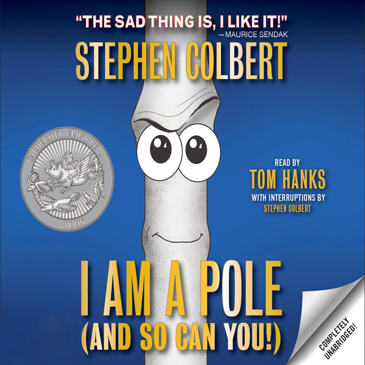 Printable I Am A Pole (And So Can You!) Audiobook Cover Art