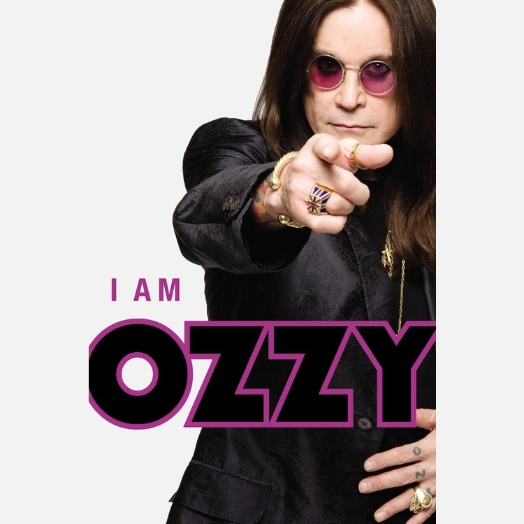 Printable I Am Ozzy Audiobook Cover Art