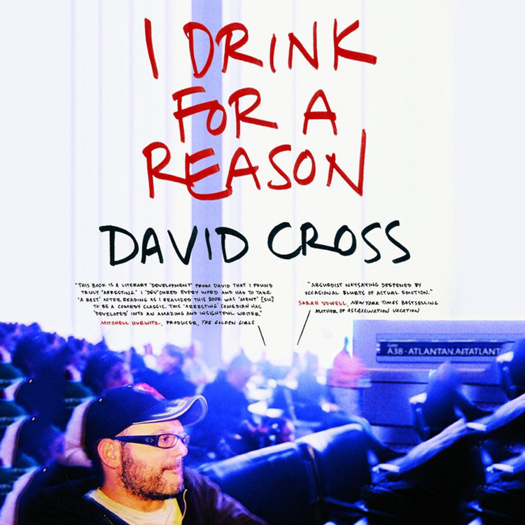 Printable I Drink for a Reason Audiobook Cover Art