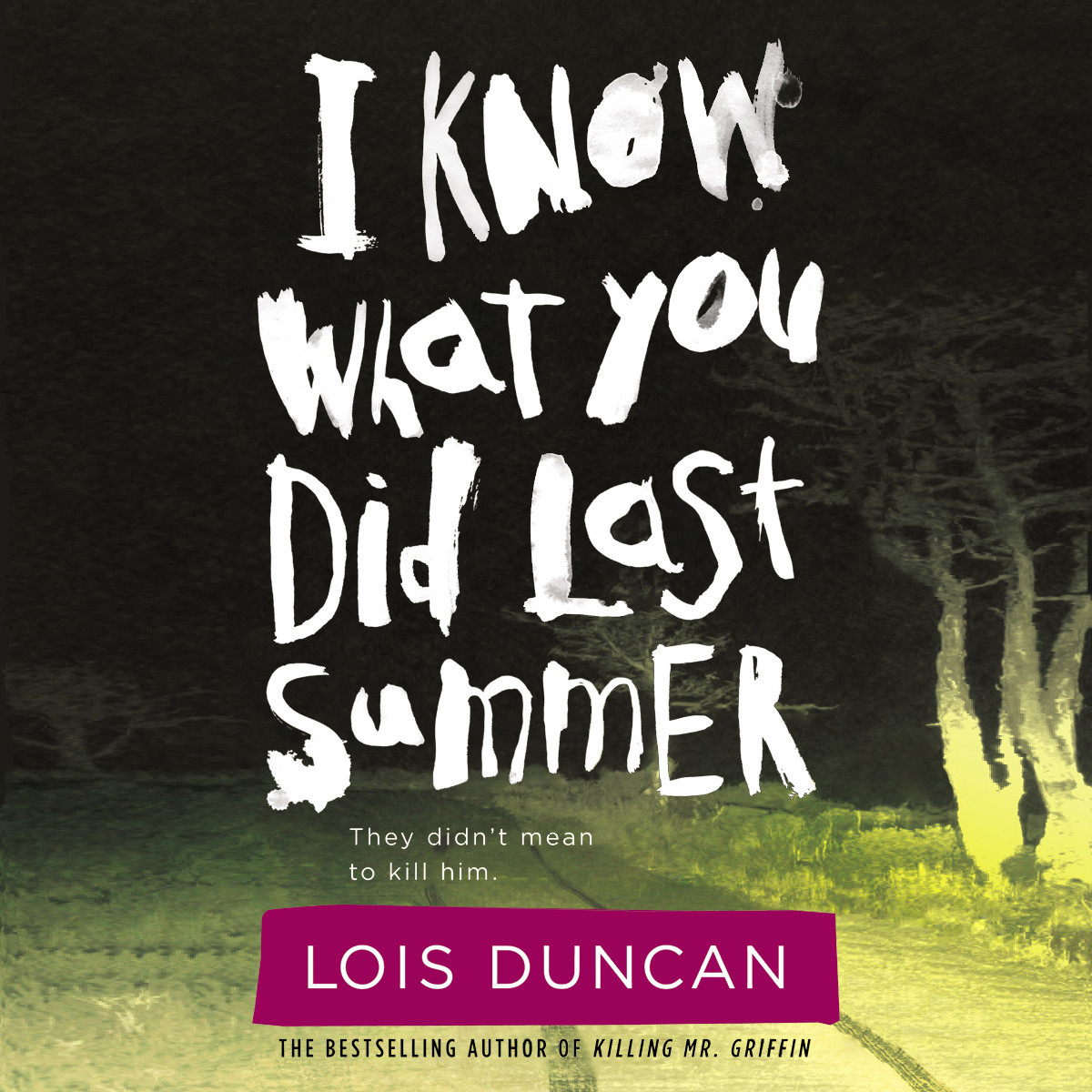 Printable I Know What You Did Last Summer Audiobook Cover Art