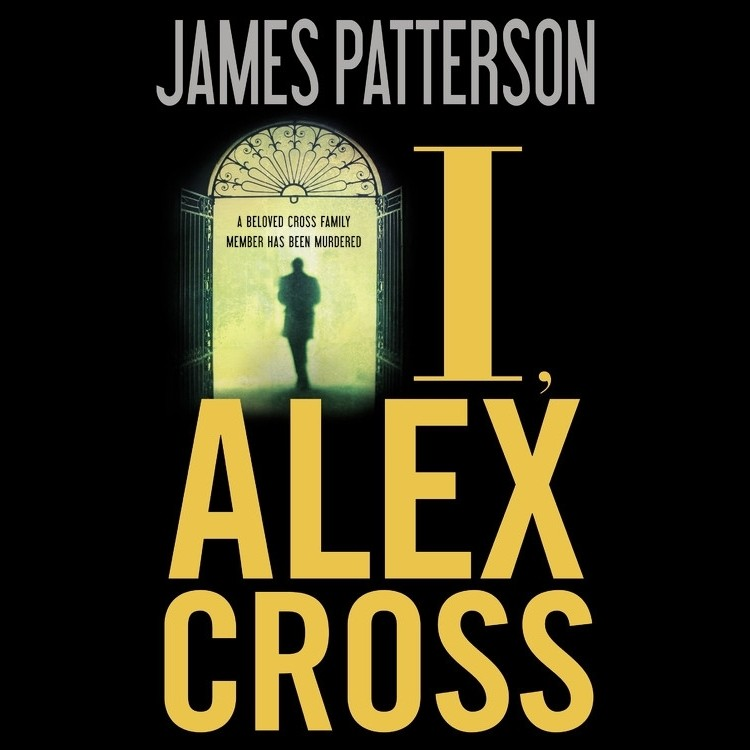 Printable I, Alex Cross Audiobook Cover Art