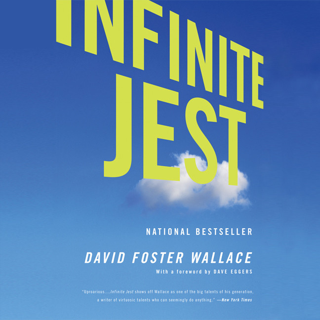 Printable Infinite Jest: Part II Audiobook Cover Art