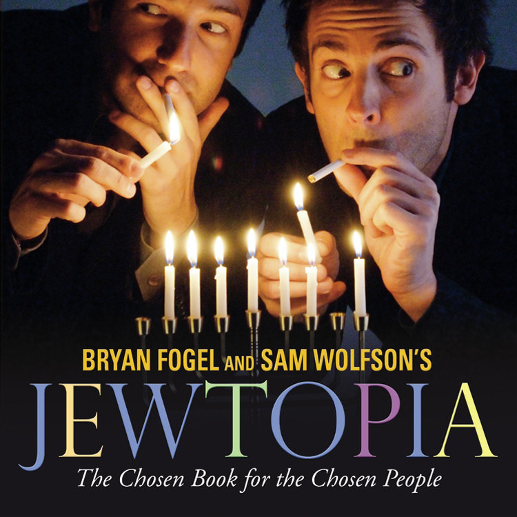 Printable Jewtopia: The Chosen Book for the Chosen People Audiobook Cover Art