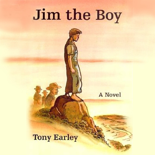 Printable Jim the Boy: A Novel Audiobook Cover Art