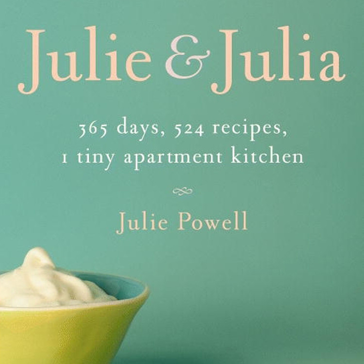 Printable Julie and Julia: 365 Days, 524 Recipes, 1 Tiny Apartment Kitchen Audiobook Cover Art