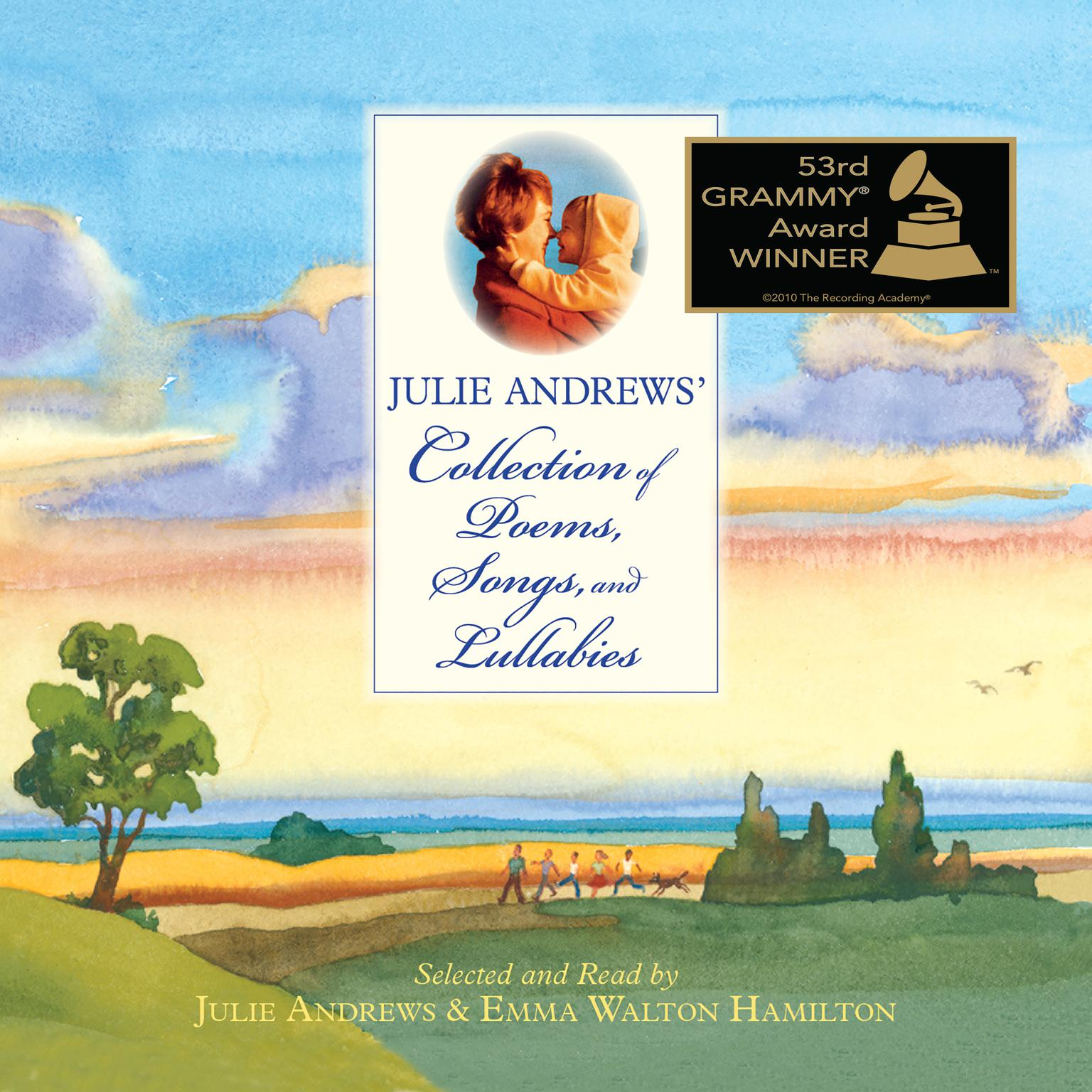 Printable Julie Andrews' Collection of Poems, Songs, and Lullabies Audiobook Cover Art