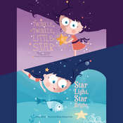 Twinkle, Twinkle, Little Star & Star Light, Star Bright, by Melissa Everett