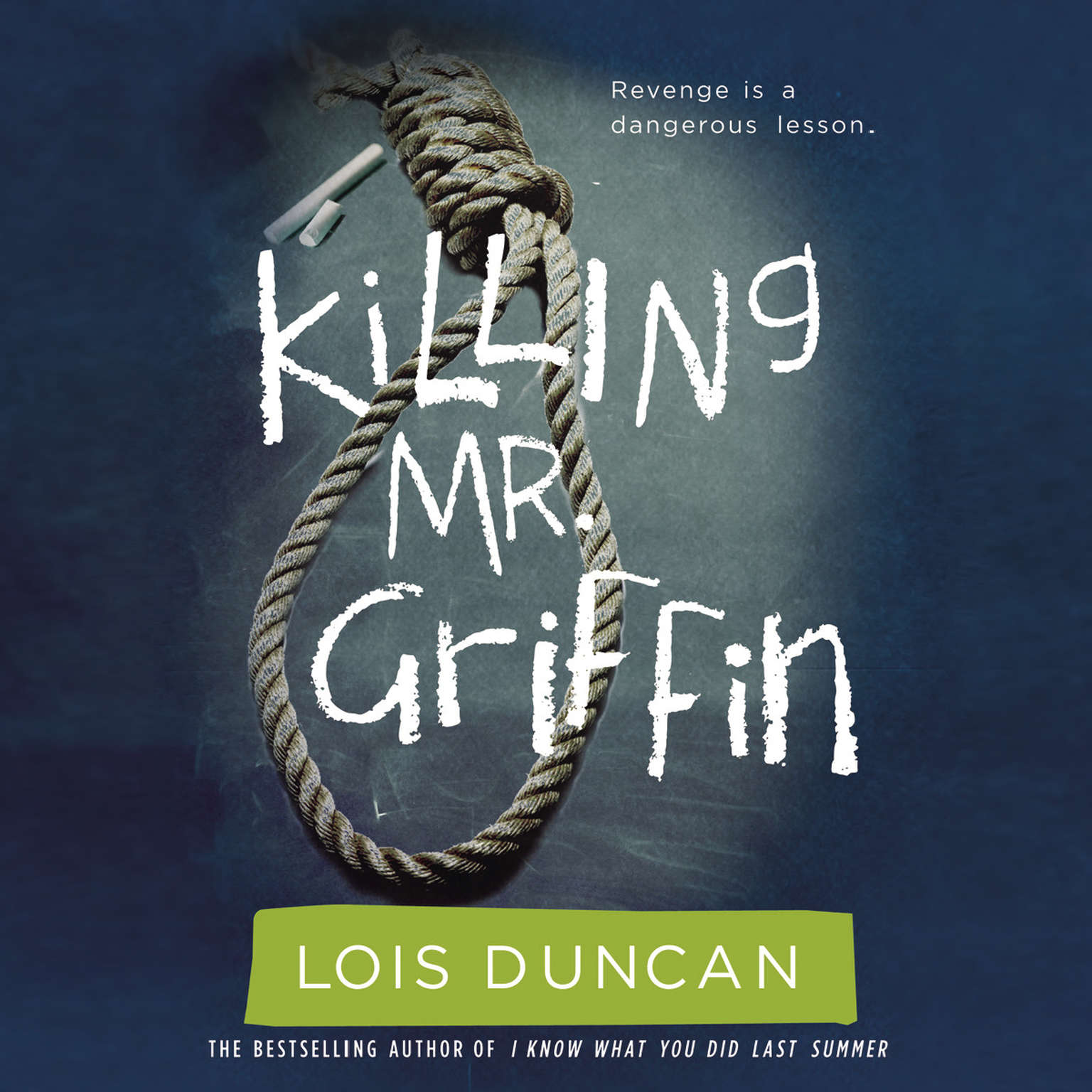Printable Killing Mr. Griffin Audiobook Cover Art