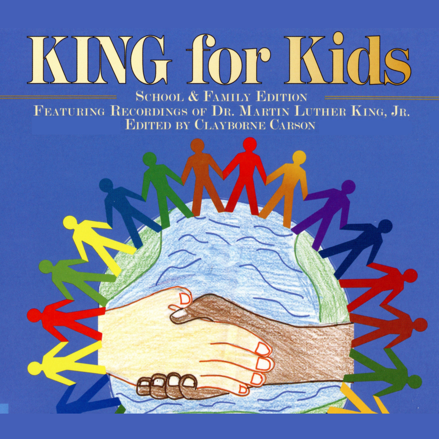 Printable King For Kids: School and Family Edition Audiobook Cover Art