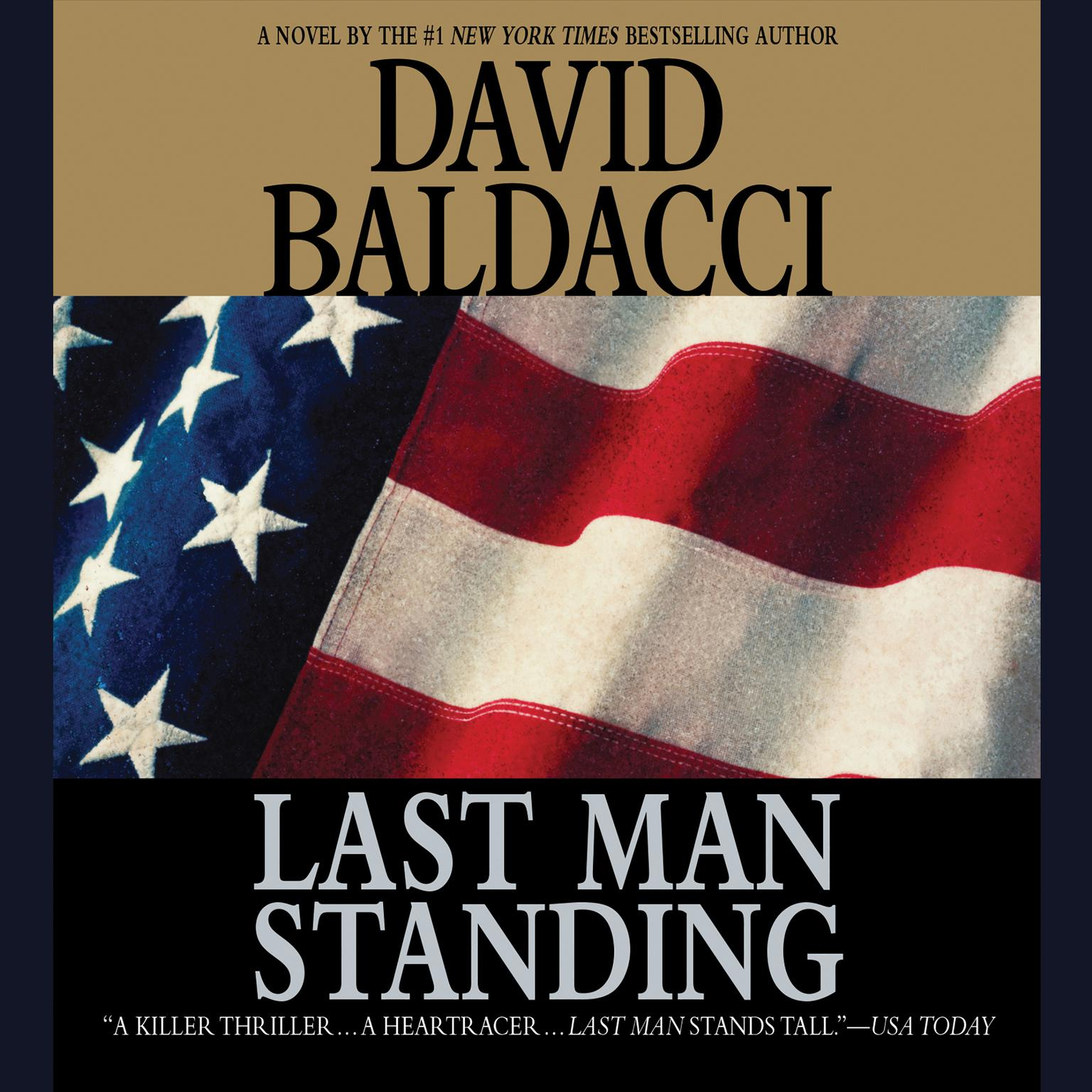 Printable Last Man Standing Audiobook Cover Art
