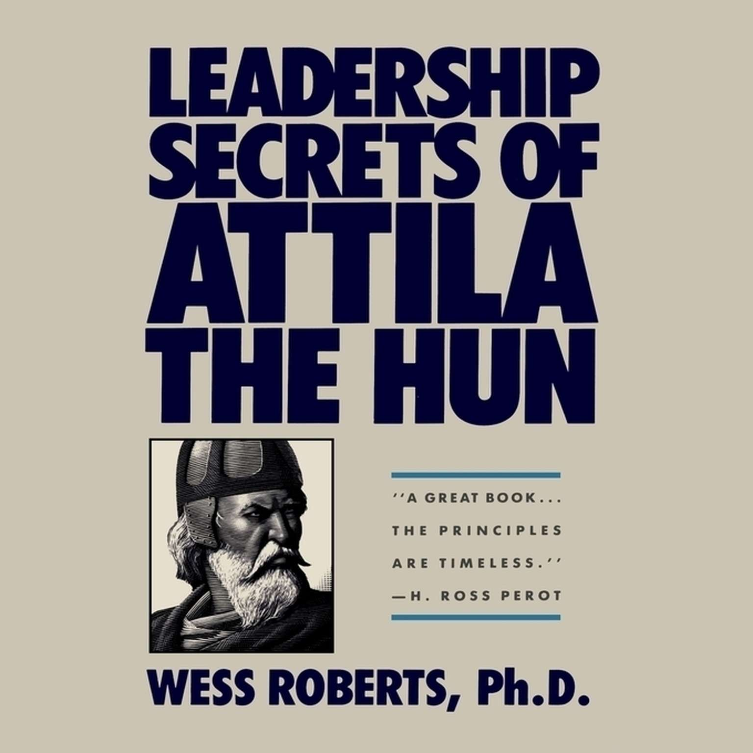 Printable Leadership Secrets of Attila the Hun Audiobook Cover Art