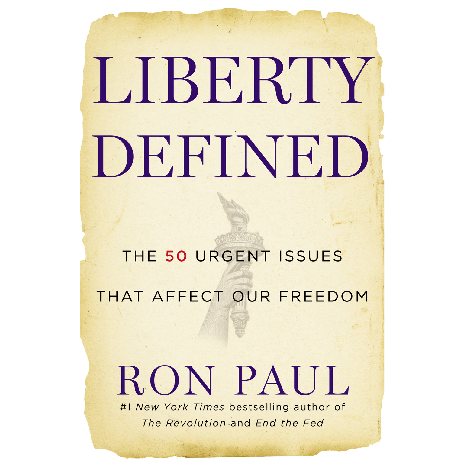 Printable Liberty Defined: 50 Essential Issues That Affect Our Freedom Audiobook Cover Art