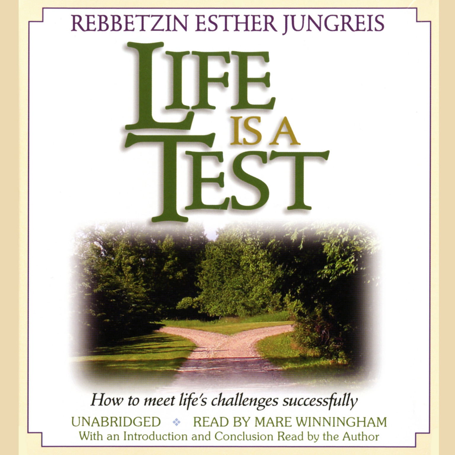 Printable Life Is a Test: How to Meet Life's Challenges Successfully Audiobook Cover Art