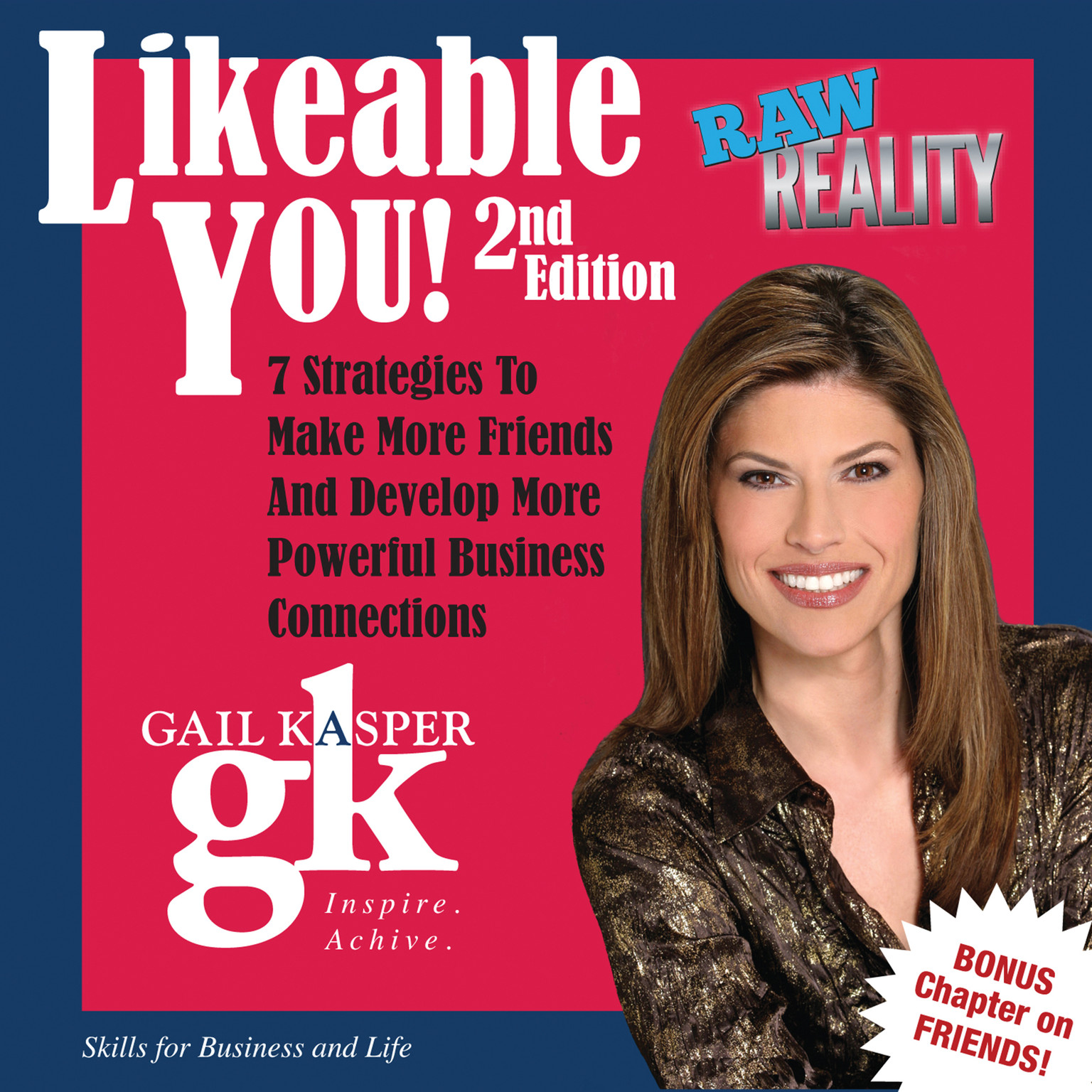Printable Likeable You Audiobook Cover Art