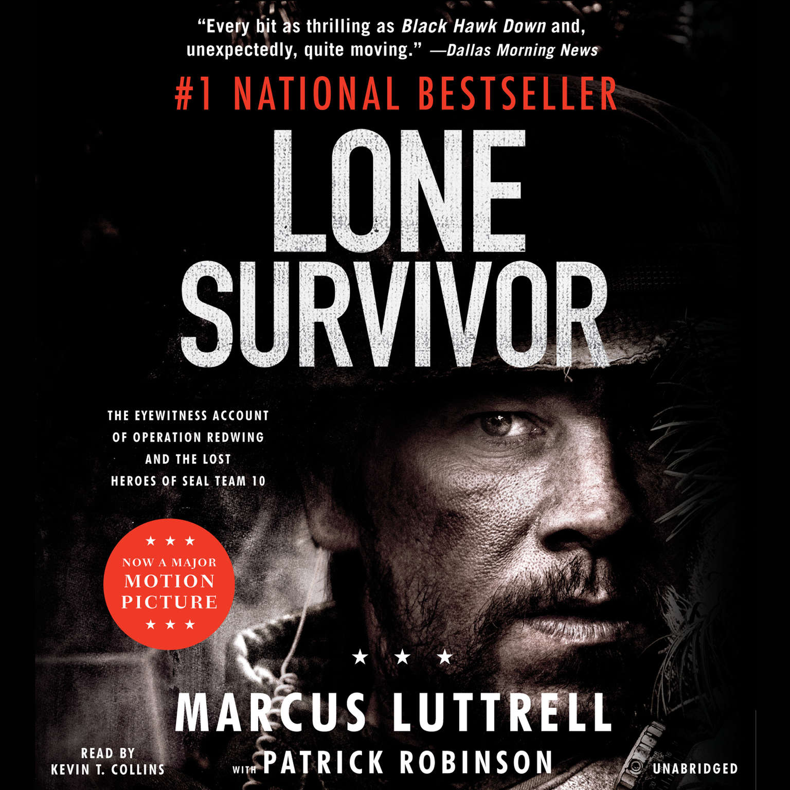 Printable Lone Survivor: The Eyewitness Account of Operation Redwing and the Lost Heroes of SEAL Team 10 Audiobook Cover Art