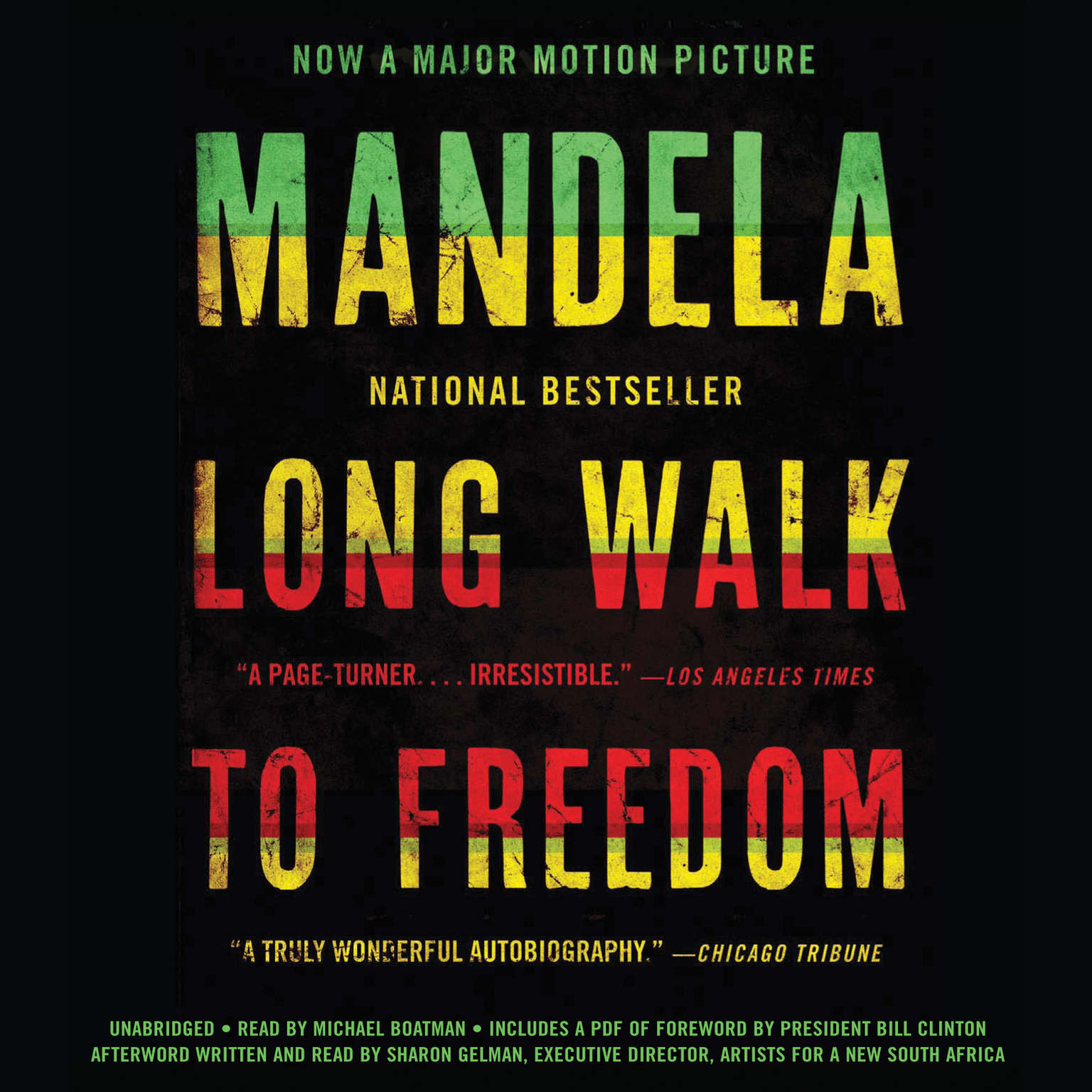 Printable Long Walk to Freedom: The Autobiography of Nelson Mandela Audiobook Cover Art