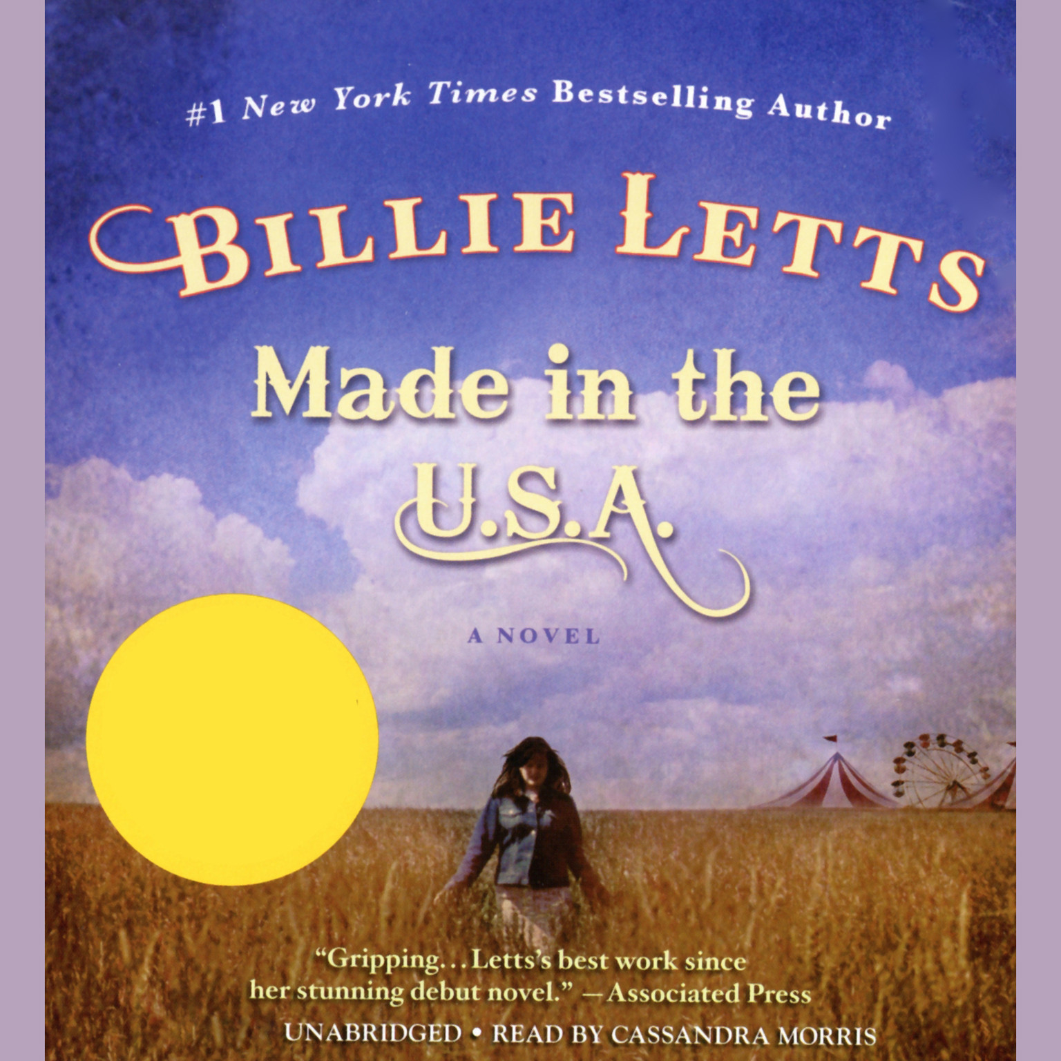 Printable Made in the U.S.A. Audiobook Cover Art