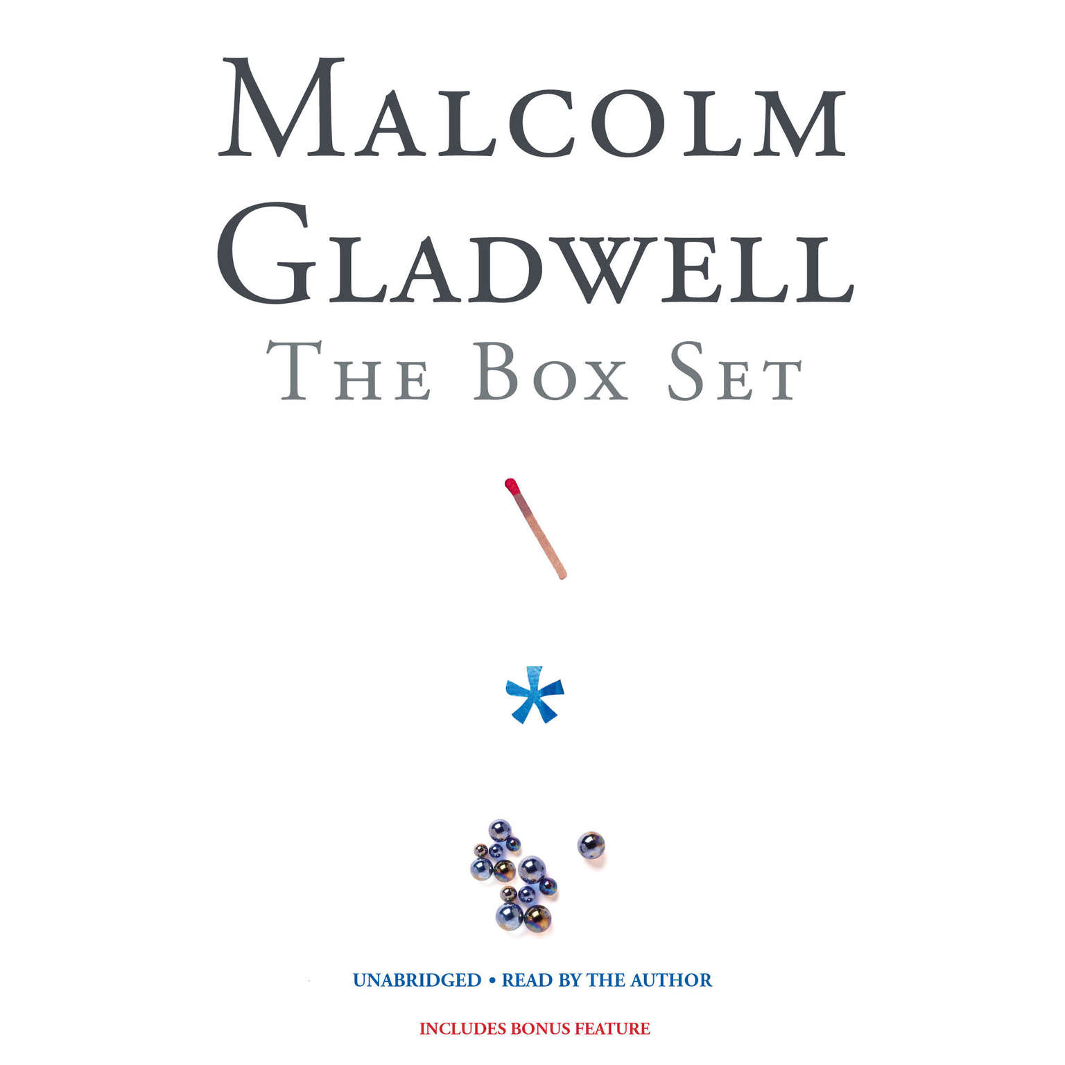 Printable Malcolm Gladwell Box Set Audiobook Cover Art