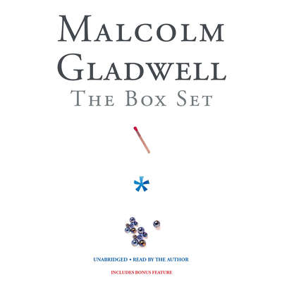 Malcolm Gladwell Box Set Audiobook, by