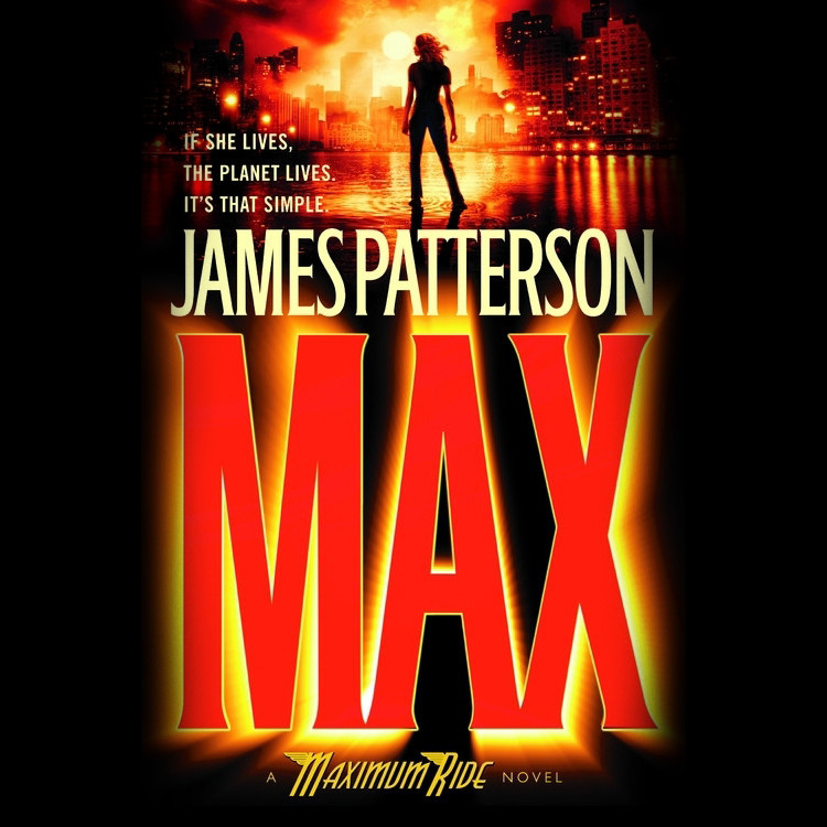 Printable Max: A Maximum Ride Novel Audiobook Cover Art