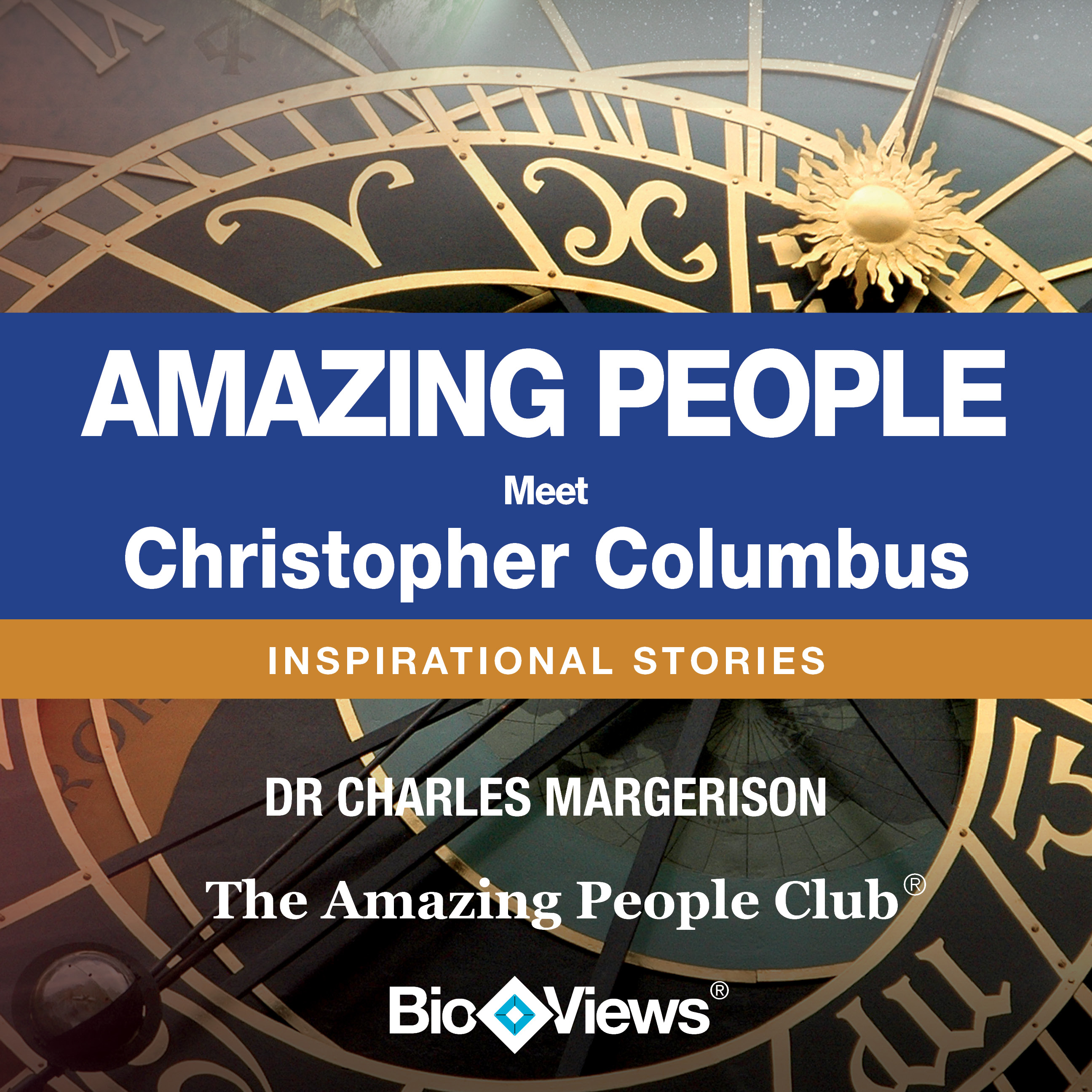 Printable Meet Christopher Columbus: Inspirational Stories Audiobook Cover Art