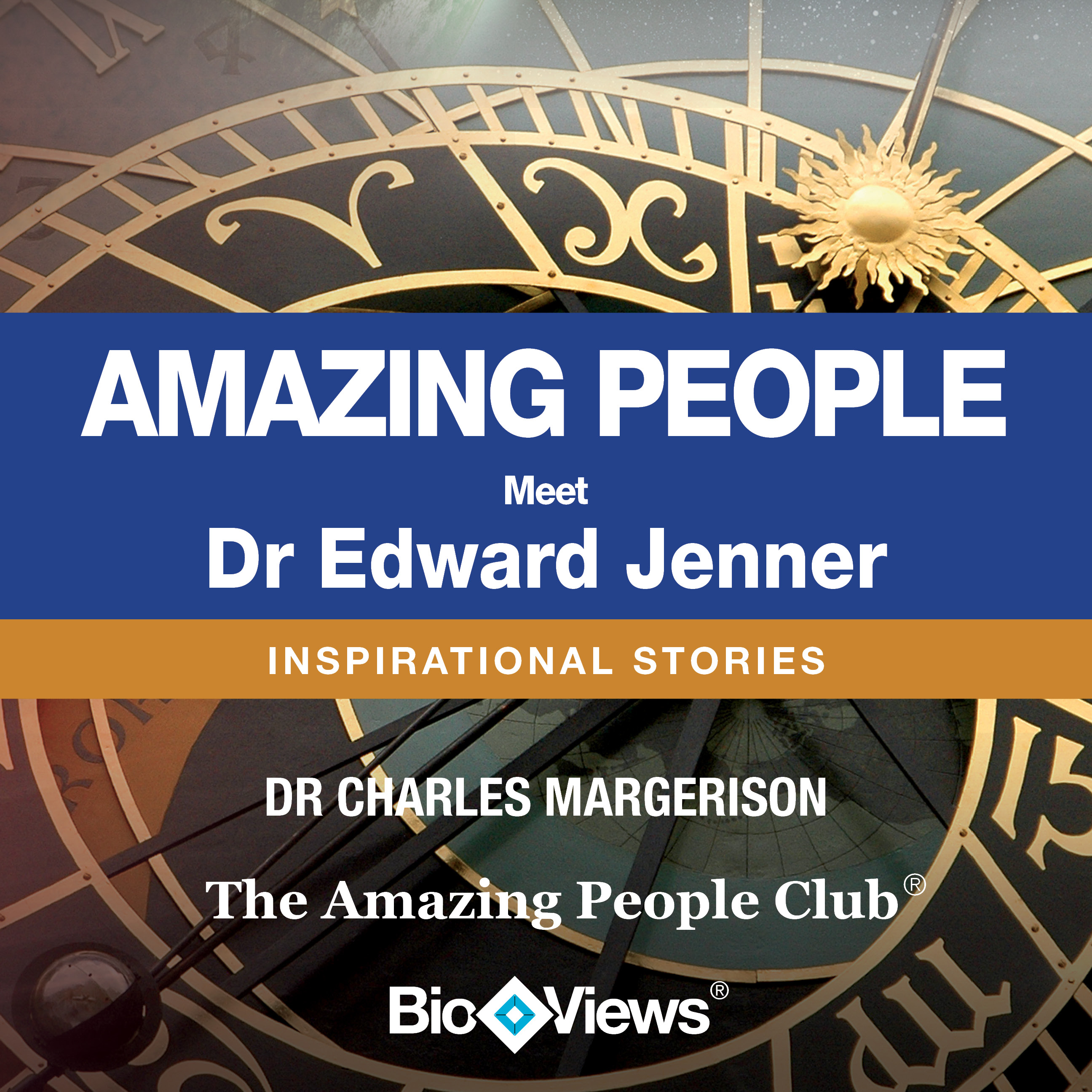 Printable Meet Dr. Edward Jenner: Inspirational Stories Audiobook Cover Art