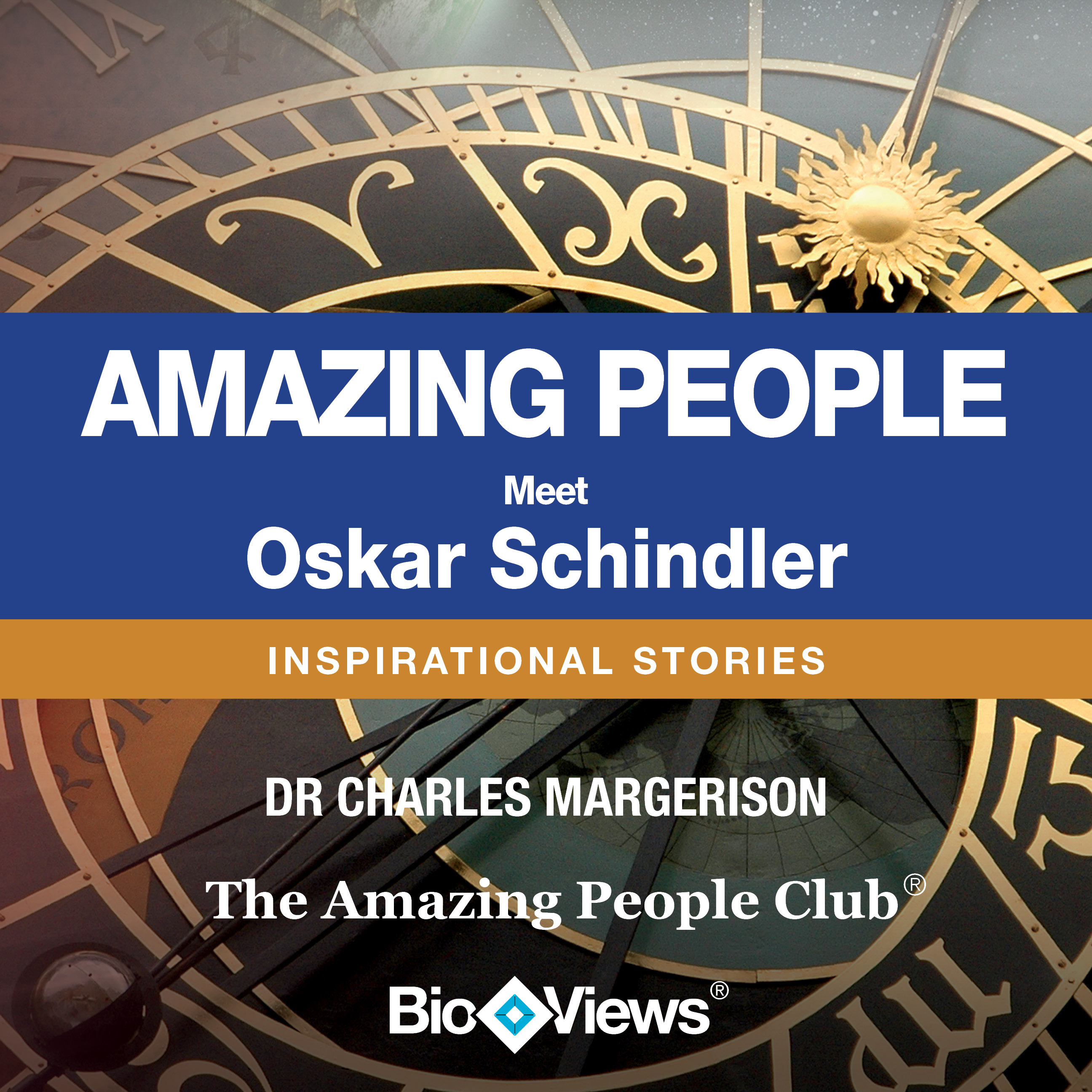 Printable Meet Oskar Schindler: Inspirational Stories Audiobook Cover Art