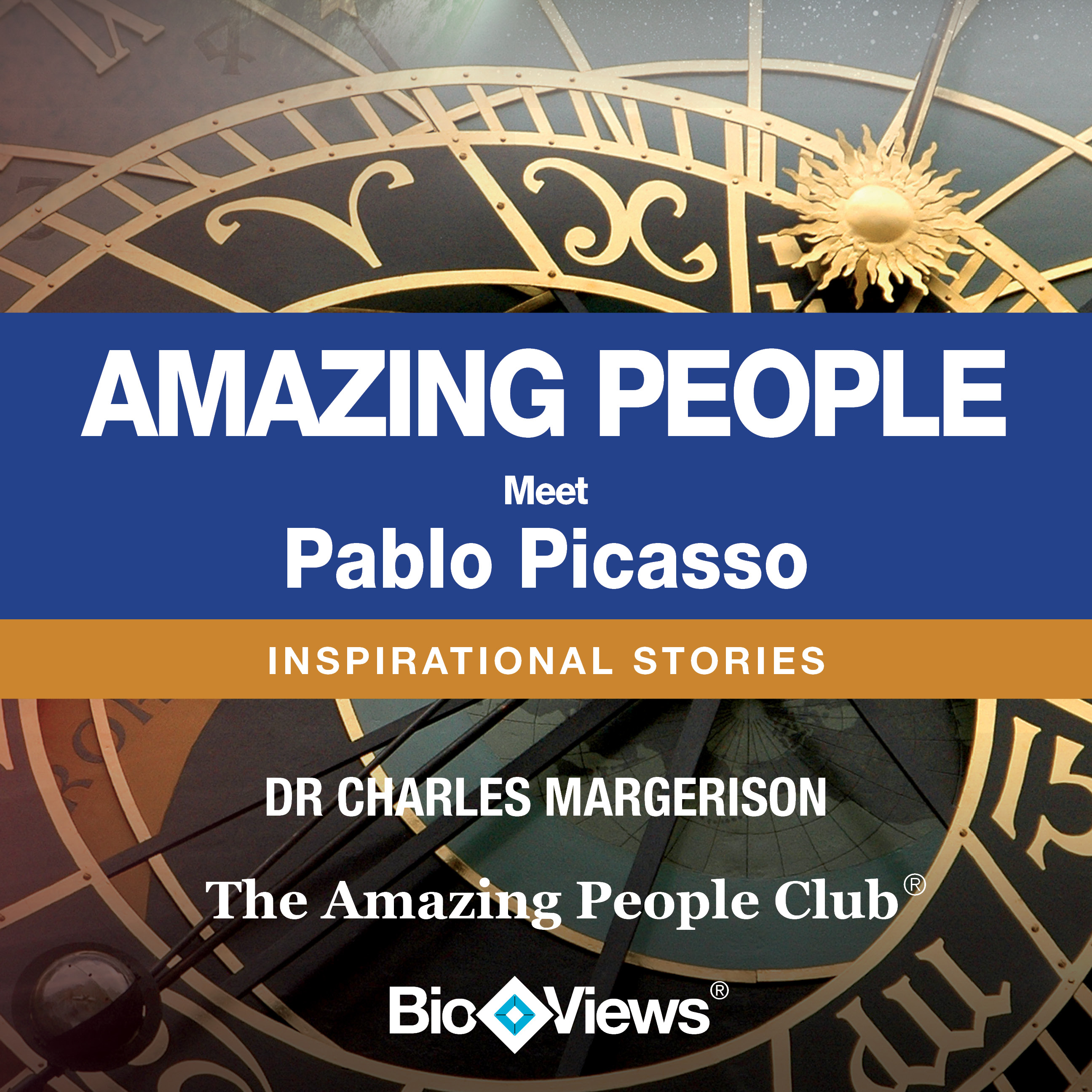 Printable Meet Pablo Picasso: Inspirational Stories Audiobook Cover Art