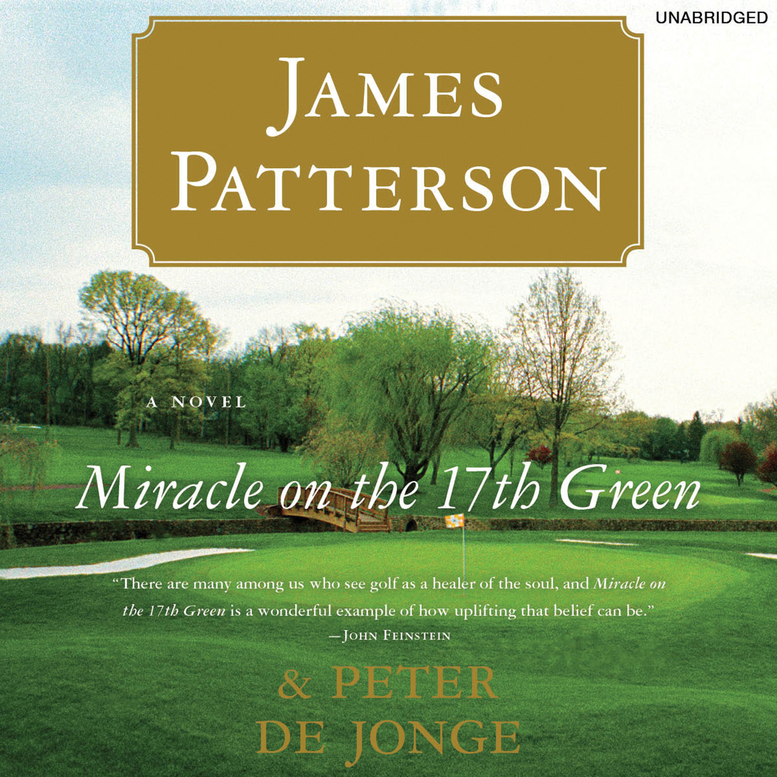 Printable Miracle on the 17th Green Audiobook Cover Art