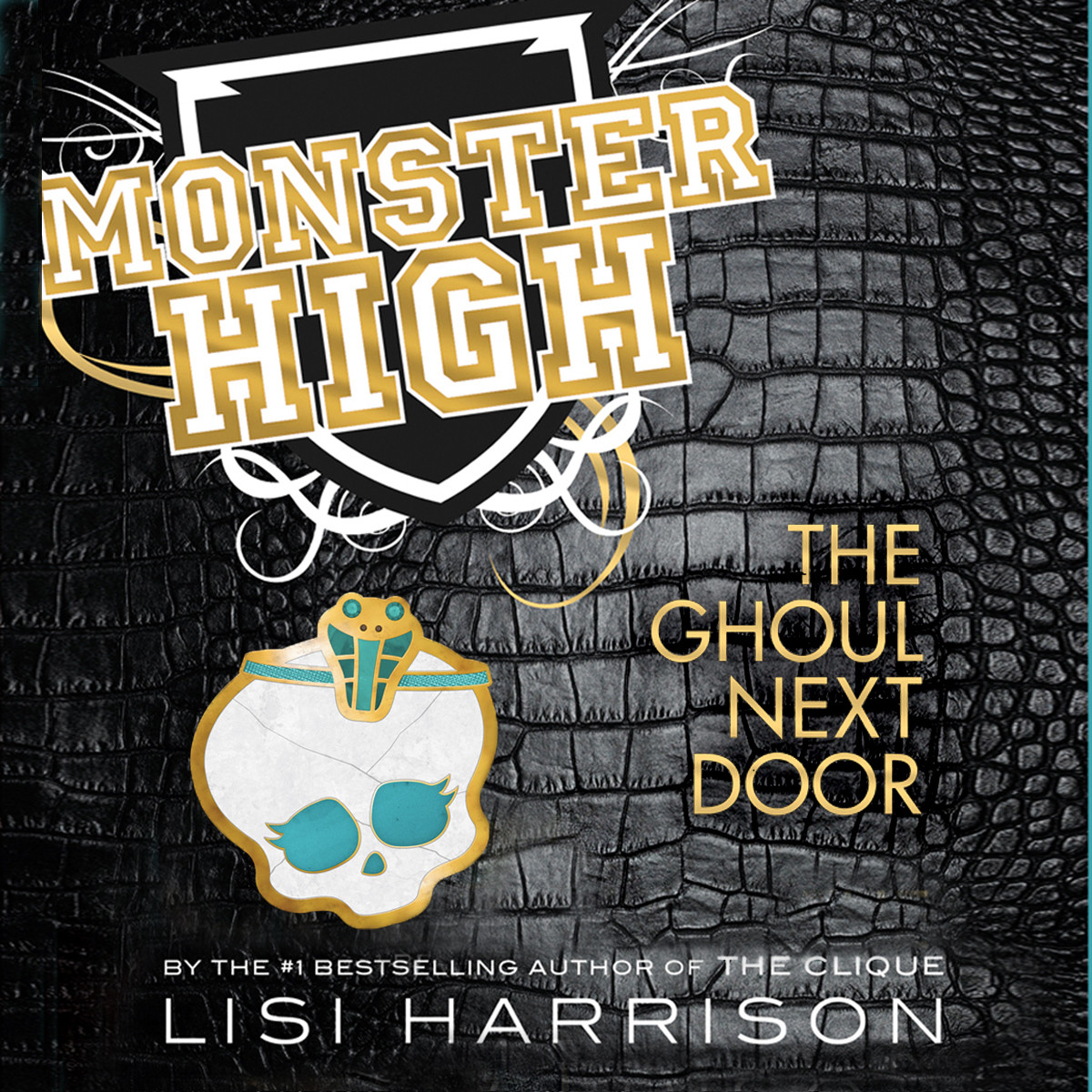 Printable Monster High: The Ghoul Next Door Audiobook Cover Art