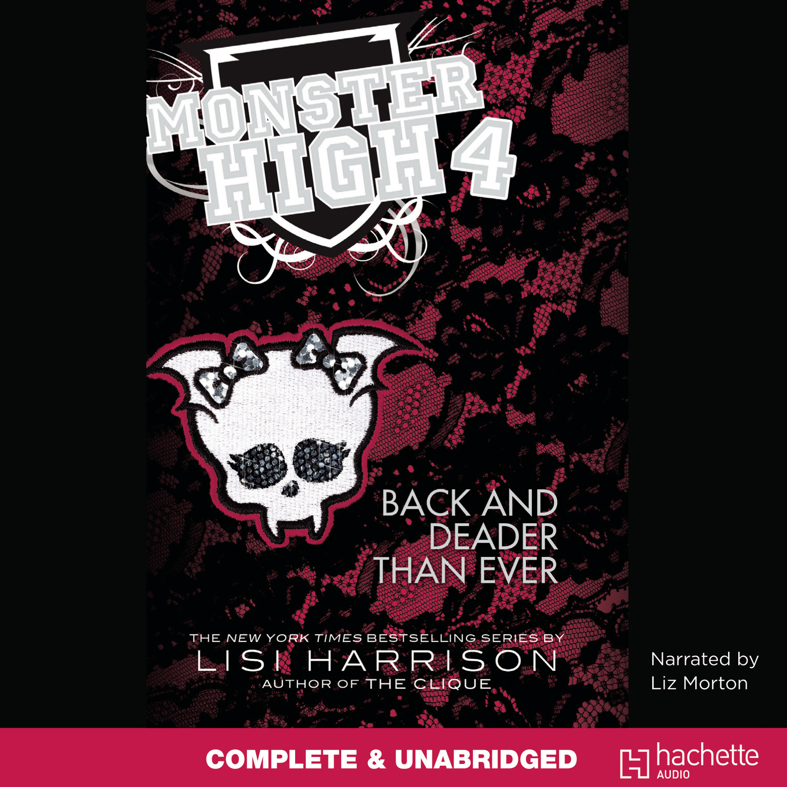 Printable Monster High: Back and Deader Than Ever Audiobook Cover Art