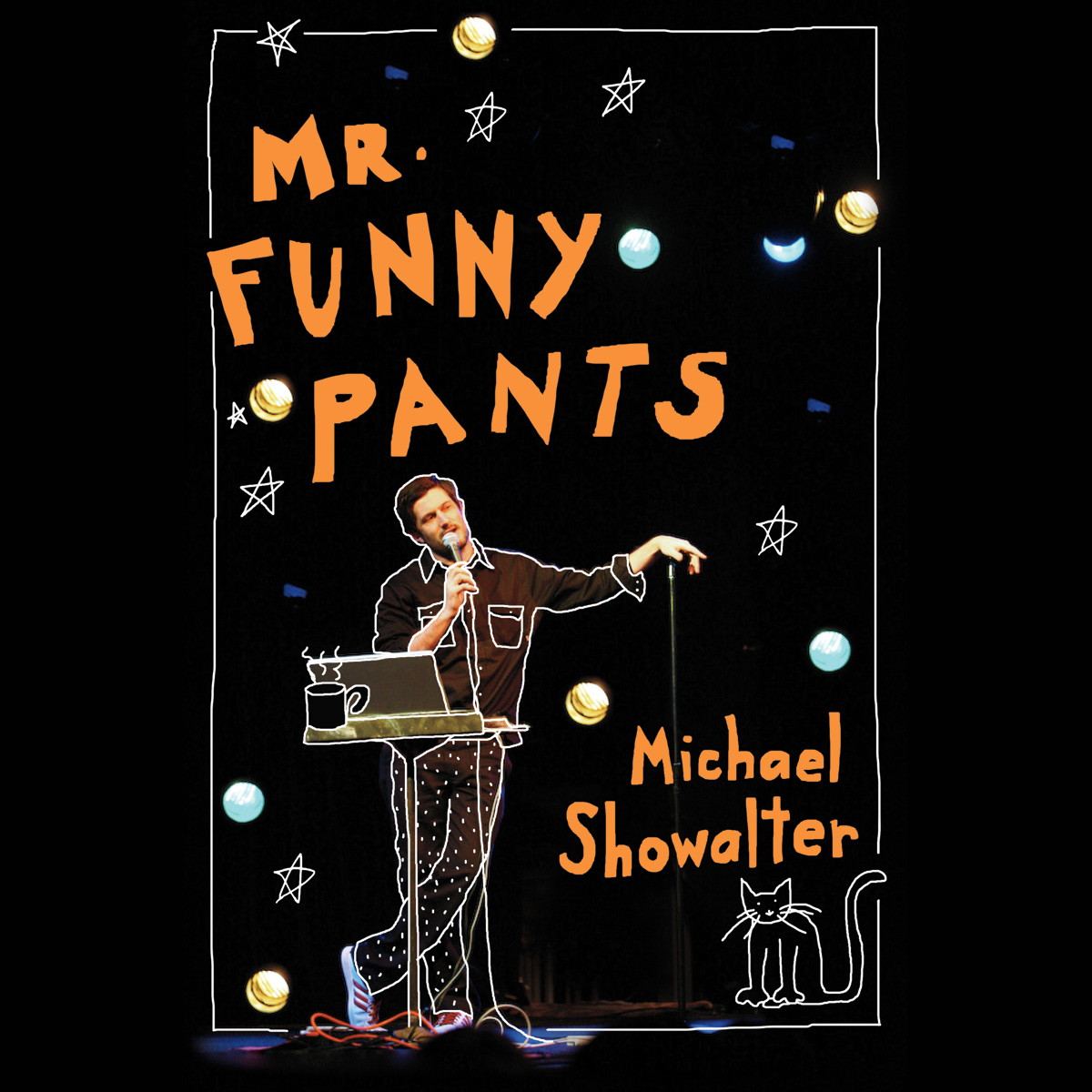 Printable Mr. Funny Pants Audiobook Cover Art