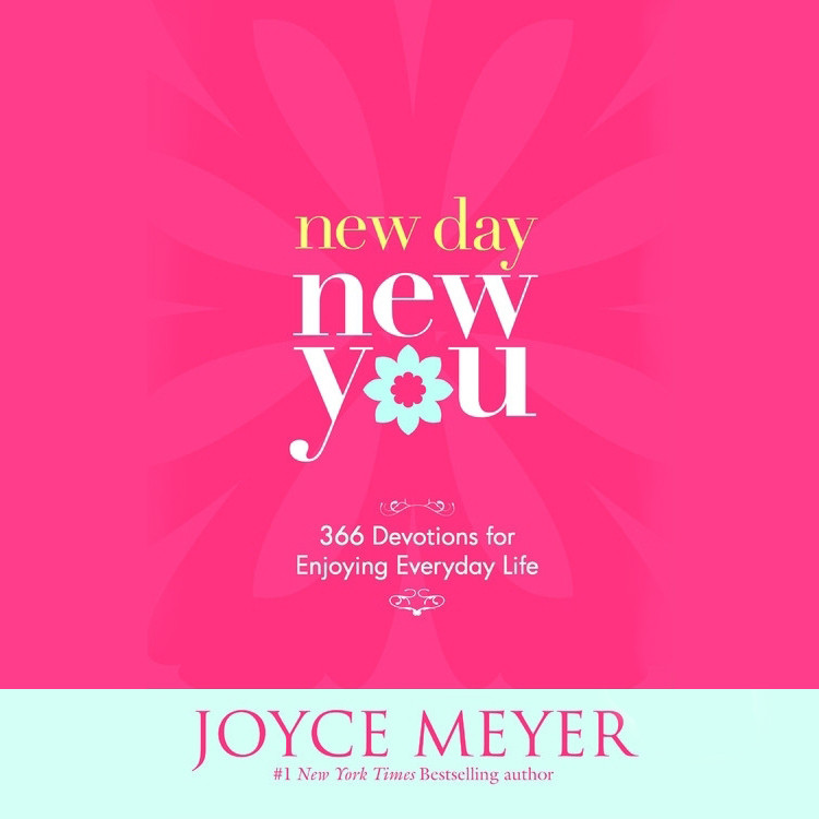 Printable New Day, New You: 366 Devotions for Enjoying Everyday Life Audiobook Cover Art
