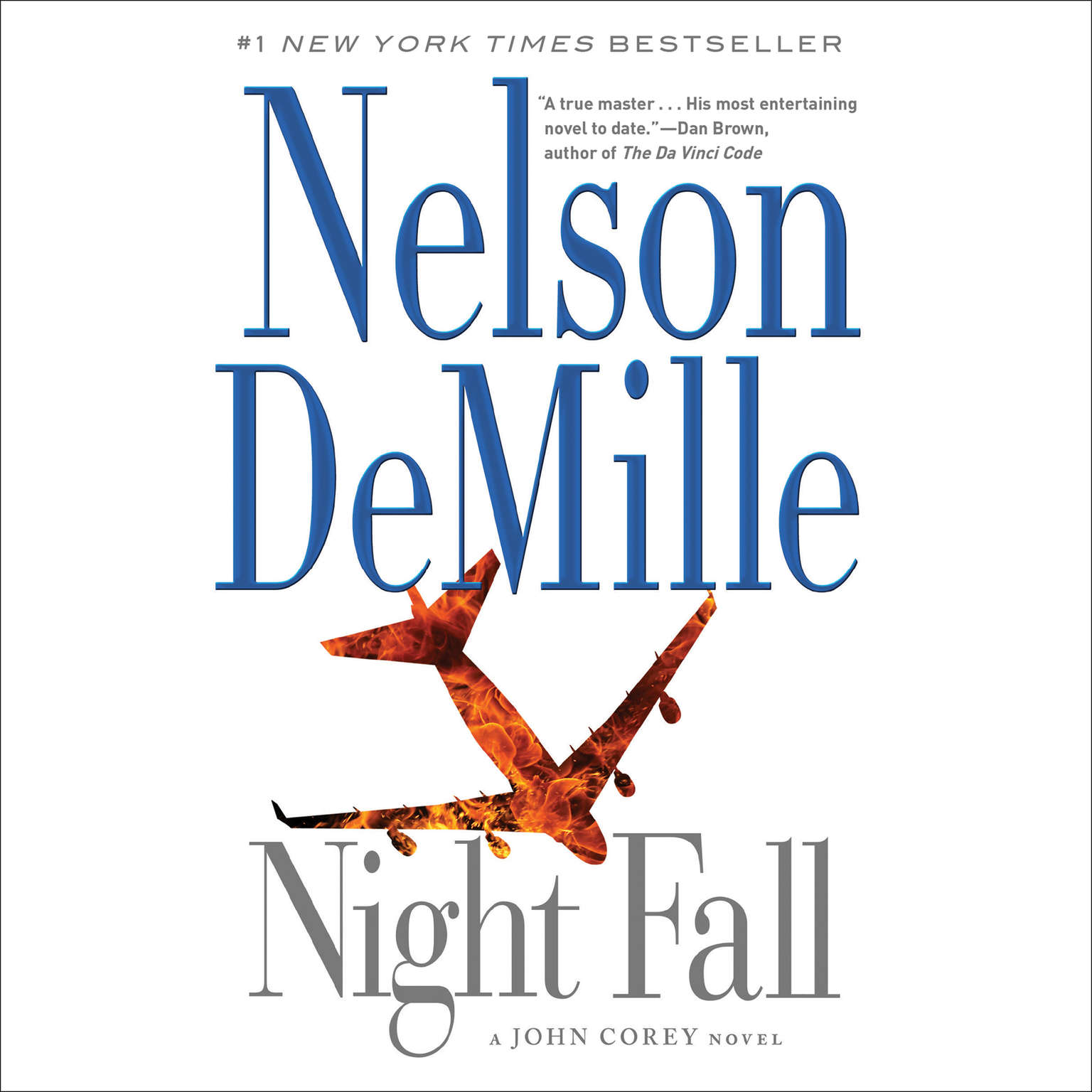 Printable Night Fall Audiobook Cover Art