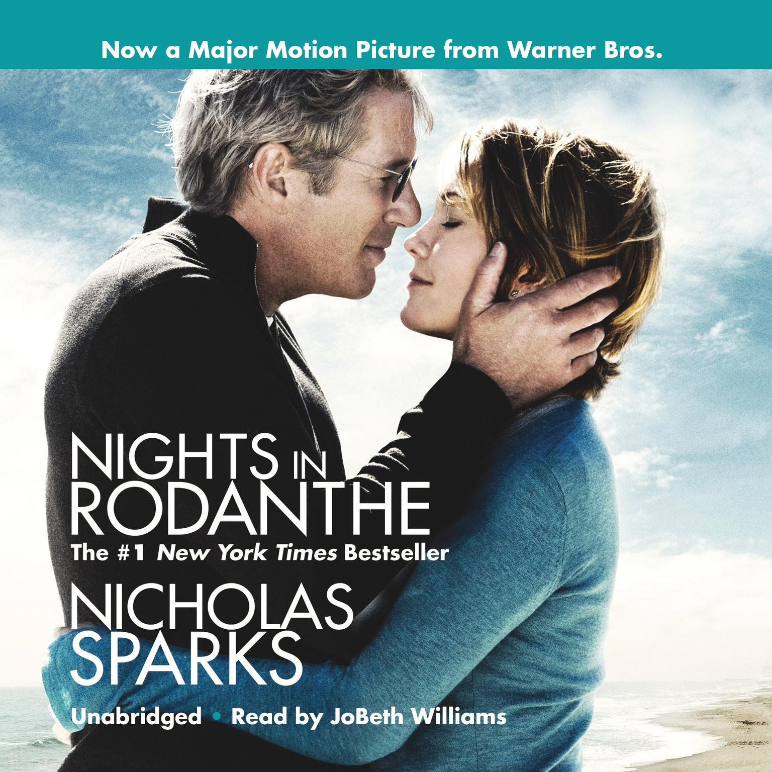 Printable Nights in Rodanthe Audiobook Cover Art