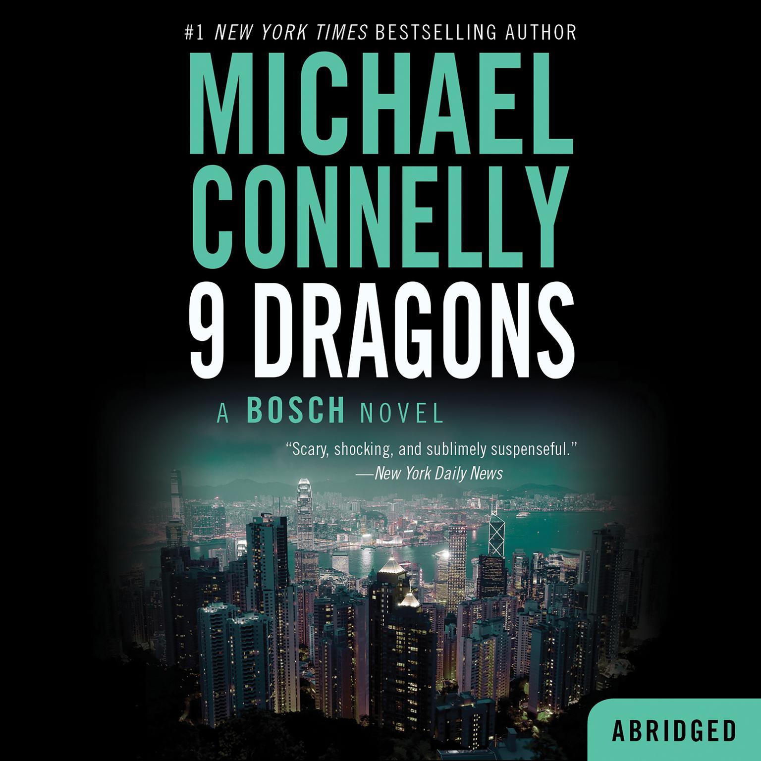 Printable Nine Dragons Audiobook Cover Art
