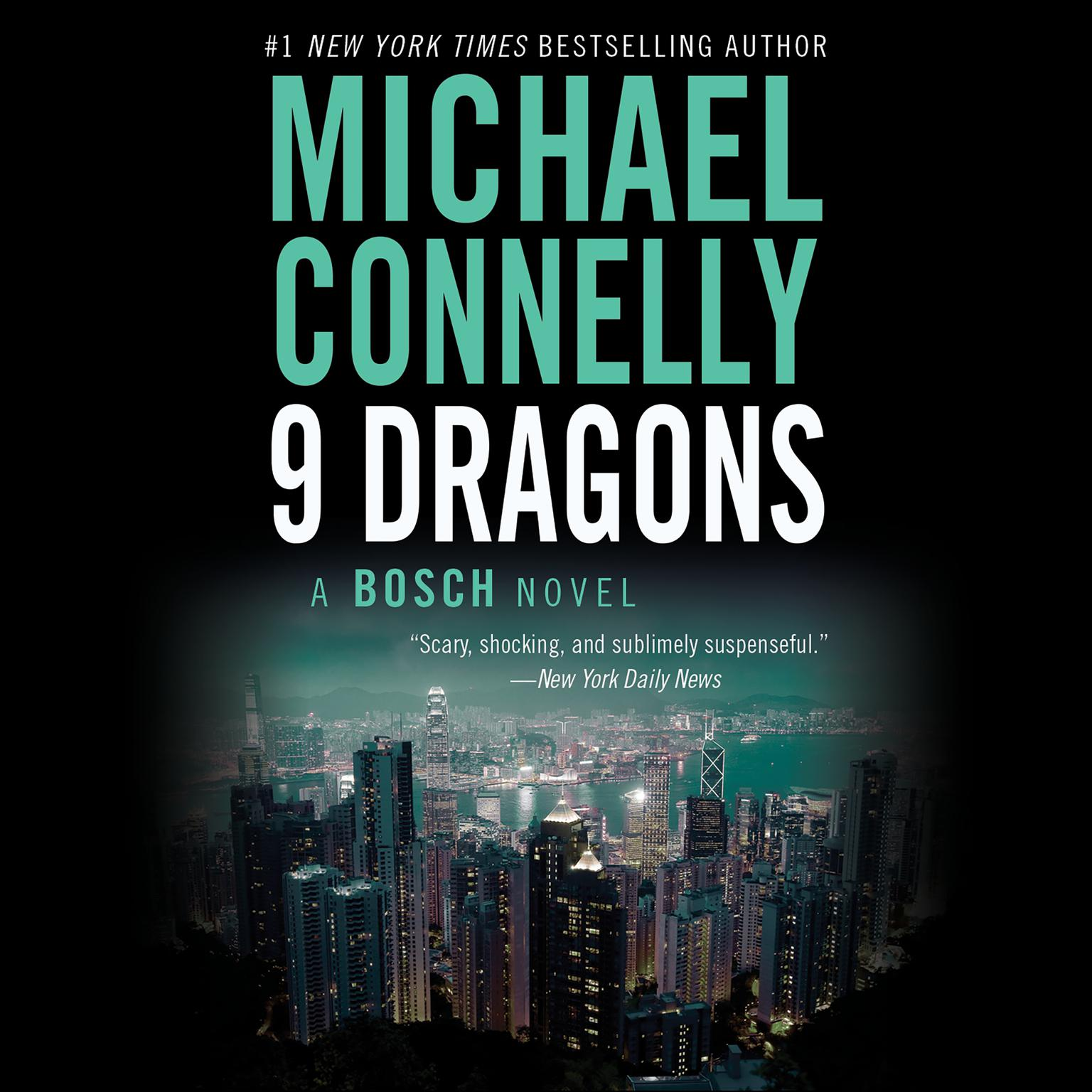 Printable Nine Dragons Audiobook Cover Art