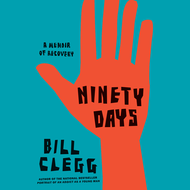 Printable Ninety Days: A Memoir of Recovery Audiobook Cover Art