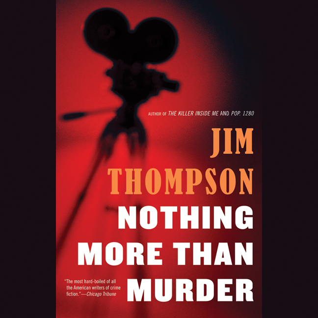 Printable Nothing More Than Murder Audiobook Cover Art