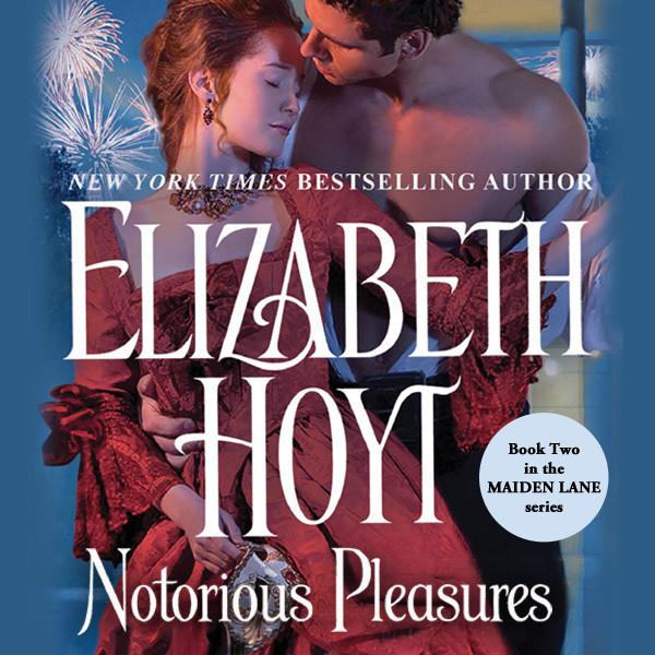 Printable Notorious Pleasures Audiobook Cover Art