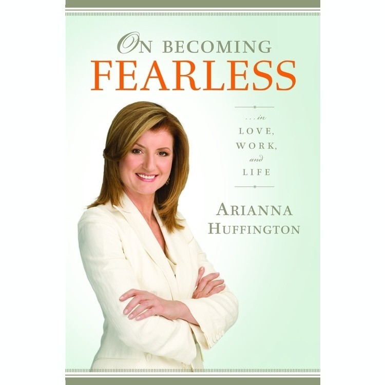 Printable On Becoming Fearless: ...in Love, Work, and Life Audiobook Cover Art