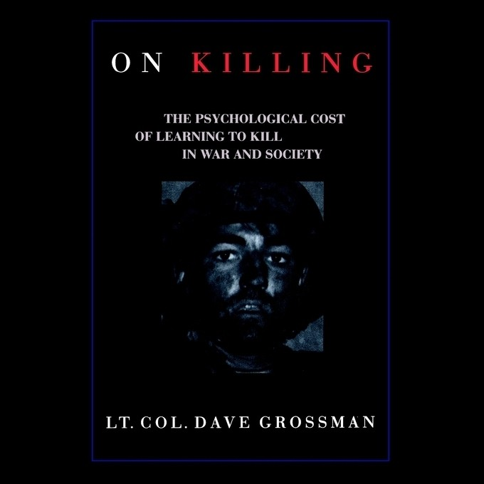 Printable On Killing: The Psychological Cost of Learning to Kill in War and Society Audiobook Cover Art