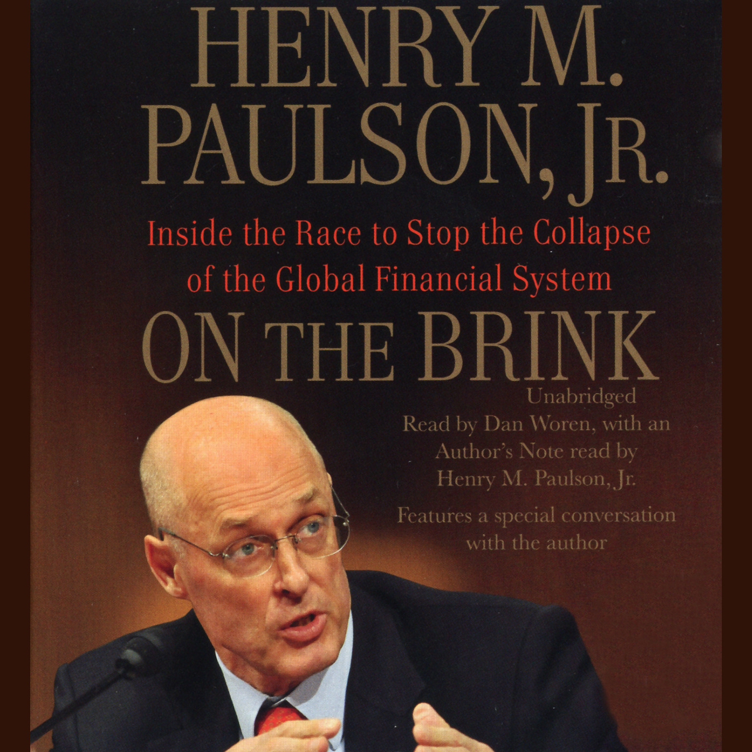 Printable On the Brink: Inside the Race to Stop the Collapse of the Global Financial System Audiobook Cover Art
