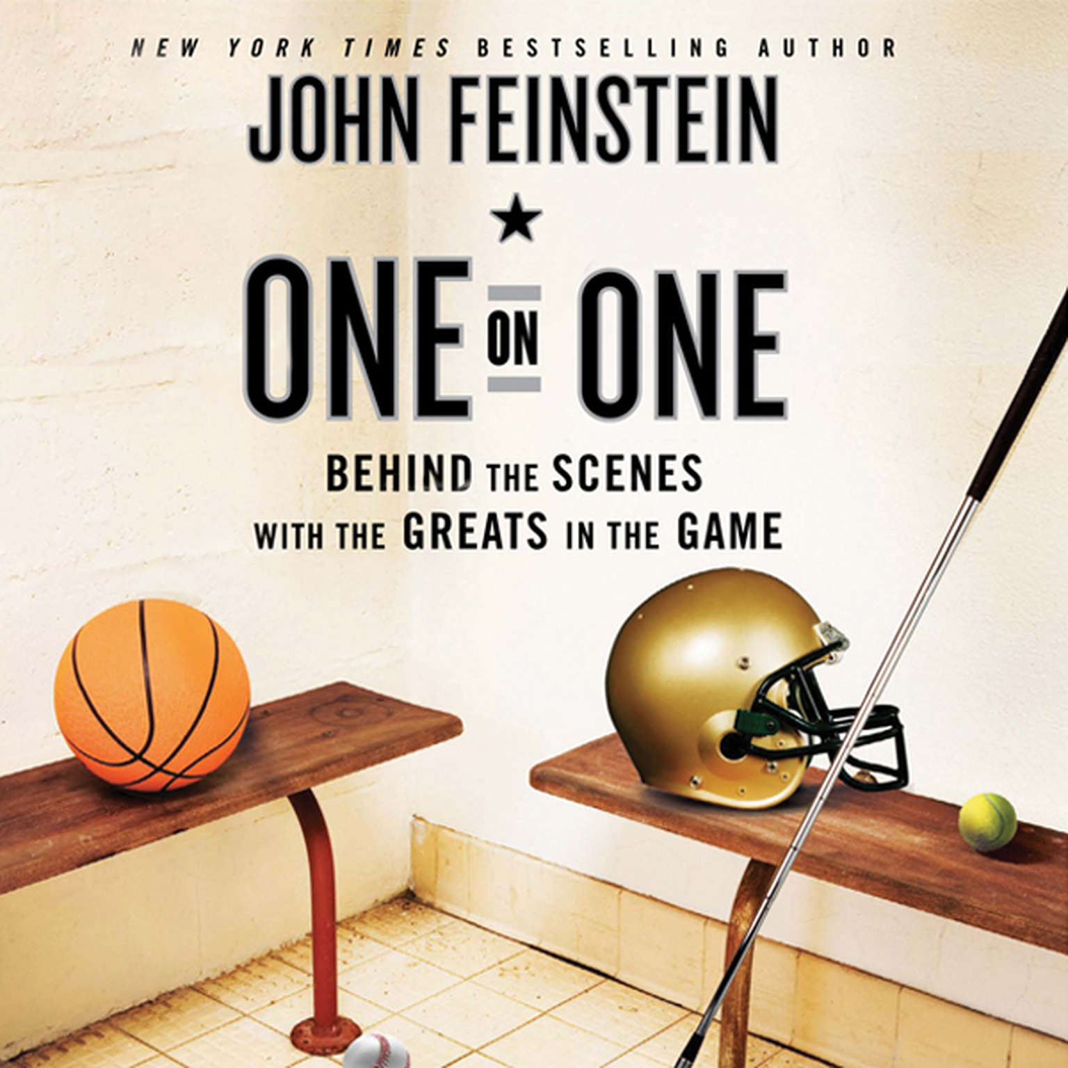 Printable One on One: Behind the Scenes with the Greats in the Game Audiobook Cover Art