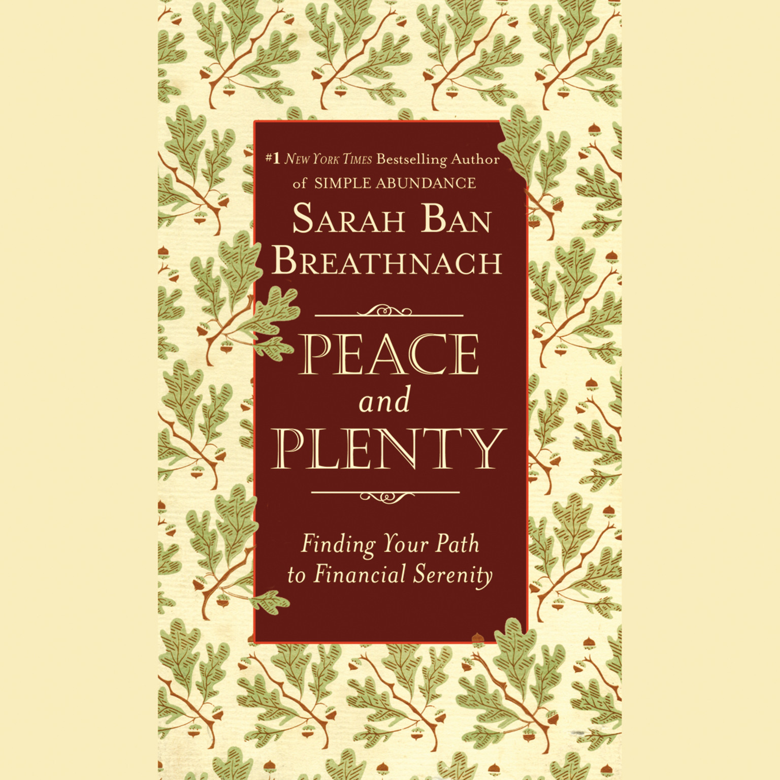 Printable Peace and Plenty: Finding Your Path to Financial Serenity Audiobook Cover Art