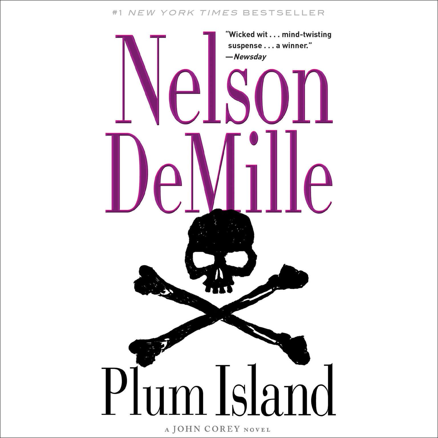 Printable Plum Island Audiobook Cover Art
