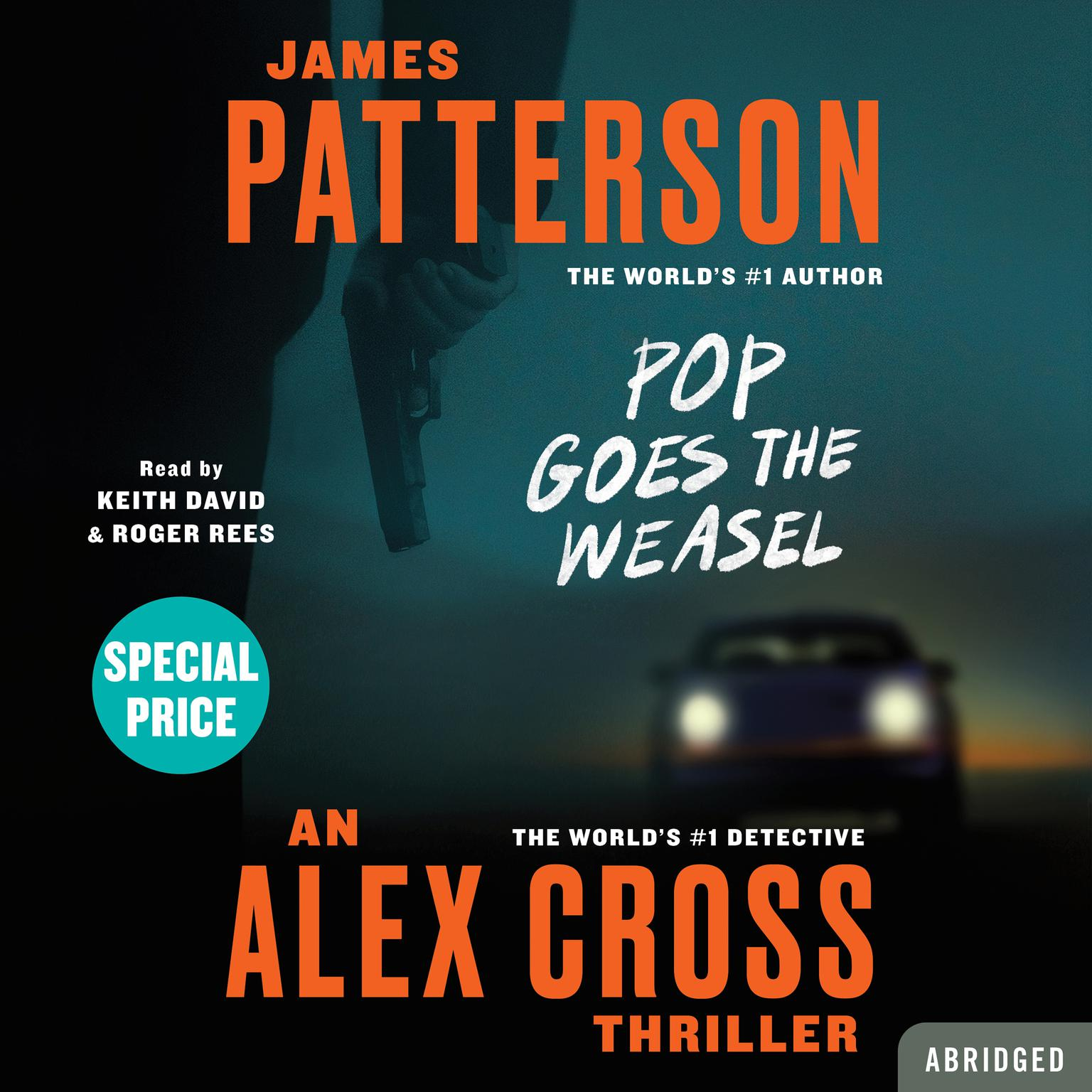 Printable Pop Goes the Weasel Audiobook Cover Art