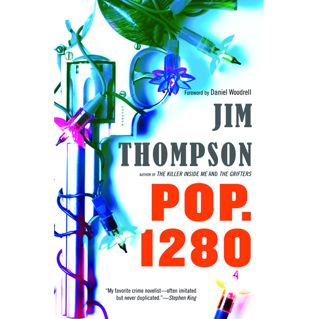 Printable Pop. 1280 Audiobook Cover Art