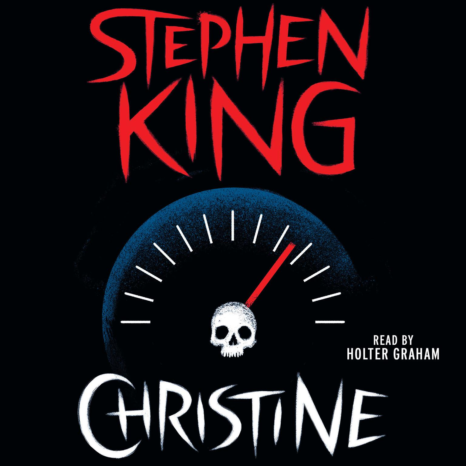 Printable Christine Audiobook Cover Art