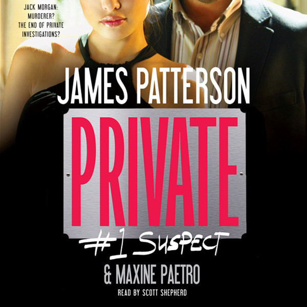 Printable Private: #1 Suspect Audiobook Cover Art